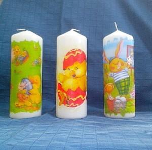 свещи Великд.