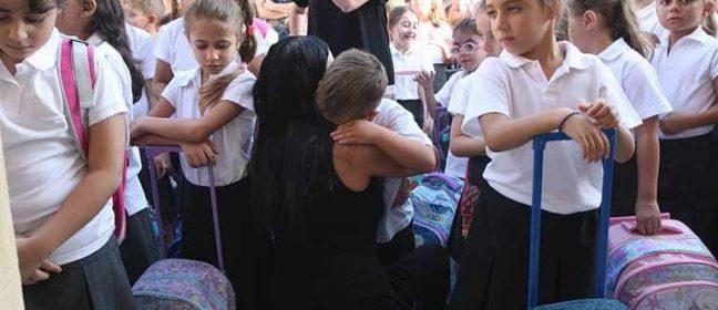 В Кипър училищният звънец удари