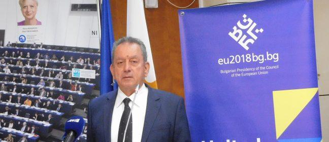 Посланик Христо Георгиев представи България като Председател на ЕС