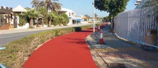 Модернизацията на велопътеката в Агия Напа е почти готова