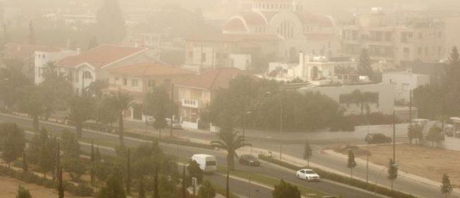 Високи нива на прах в Пафос и Лимасол, очаква се по-късно дъжд