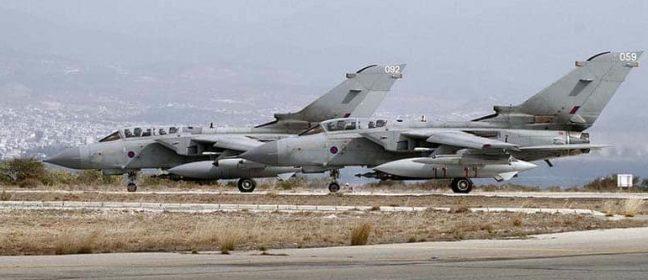 Британските бази искат да запазят въздушно пространство в рамките на Никозия FIR