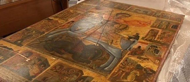По чудо отърваха открадната кипърска икона от търг в Швейцария