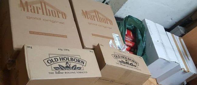 Разбиха нелегален склад за контрабандни тютюневи изделия до Ларнака