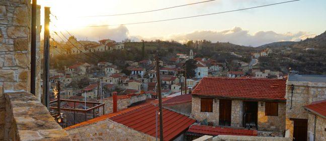 Чара на кипърското село Лофу