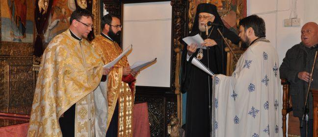 Тържествена литургия и благодарствен молебен в Паралимни