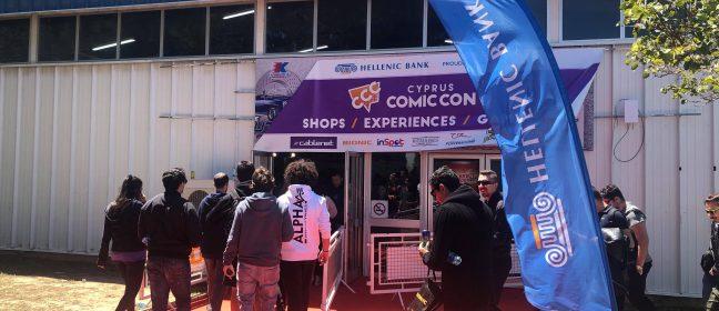 Comic con Кипър –  уикендът за поп култура