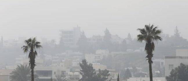 Днес: Висока концентрация на прах в атмосферата