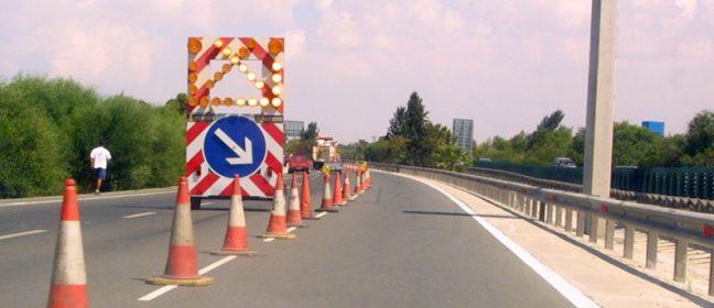 Отсечка на магистрала Никозия-Лимасол ще бъде затворена за строителство