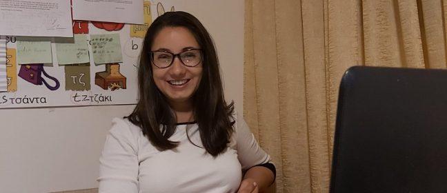 Кристина Василева, втори оторизиран преводач за Ларнака
