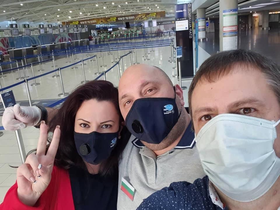 На летище Ларнака