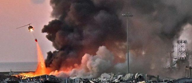 Потенциално вредните изпарения, освободени при взрива в Бейрут, не са достигнали до Кипър