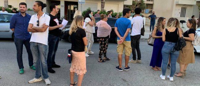 Кипър: Протест на родители пред Министерството на образованието