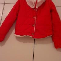 Червено шушляково яке